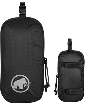 Mammut Add-on Shoulder Harness Pocket black M