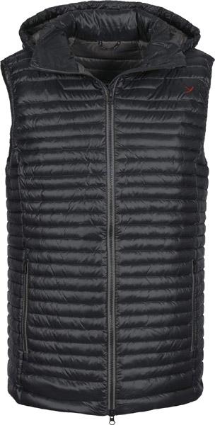 Yeti Avignon M's Hooded Micro Vest black/dark grey/XXL