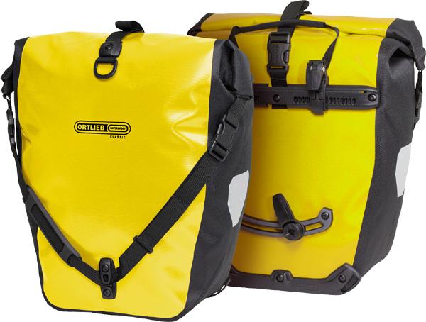 Ortlieb Back-Roller Classic (Paar) gelb/schwarz/40 Liter