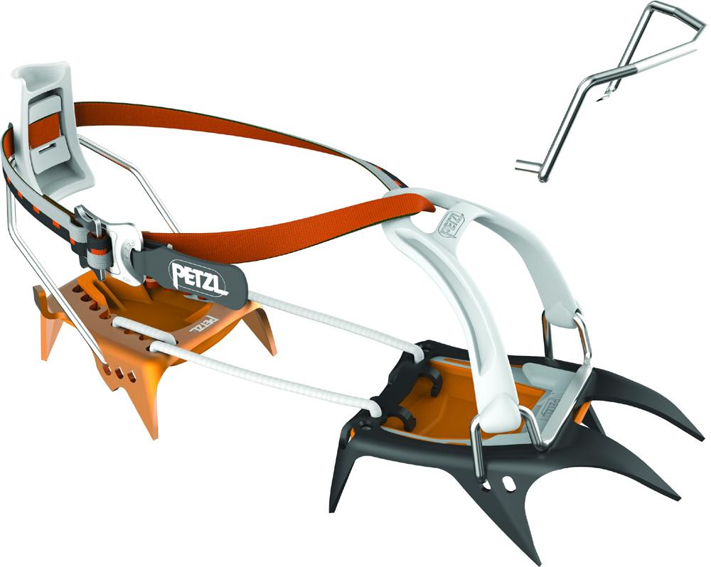 Petzl Irvis Hybrid leverlock/universell