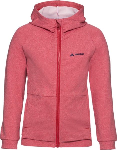 Vaude Kids Awilix Tracktop Hooded indian red/134/140