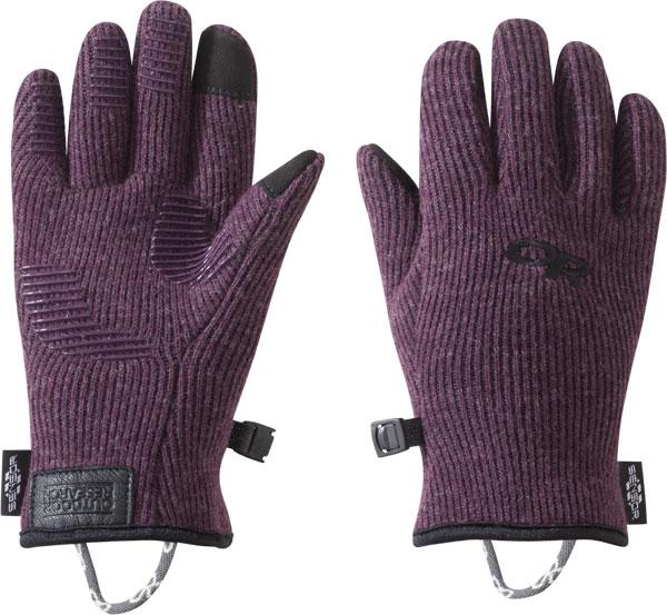 Outdoor Research Kids Flurry Sensor Gloves pinot/L