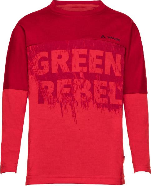 Vaude Kids Fulmar LS Shirt II energetic red/110/116