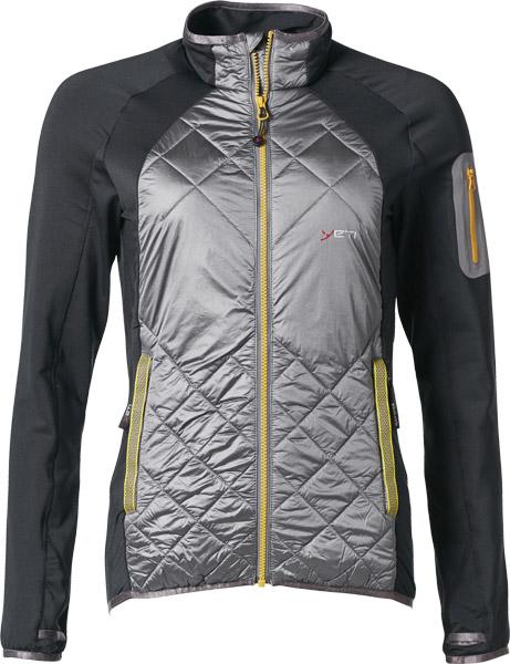 Yeti Plym W's Hybrid Wool Jacket anthracite/gull grey/S