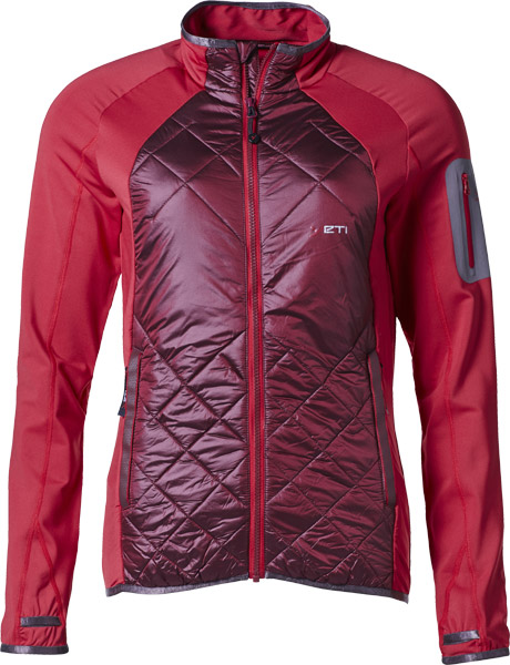 Yeti Plym W's Hybrid Wool Jacket ribbonred/darkred/M