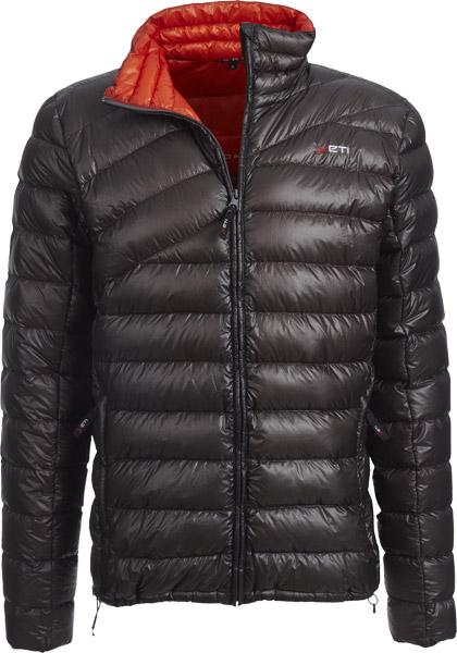 Yeti Purity M's Lightweight Down Jacket dark gully grey/mandarinred/S