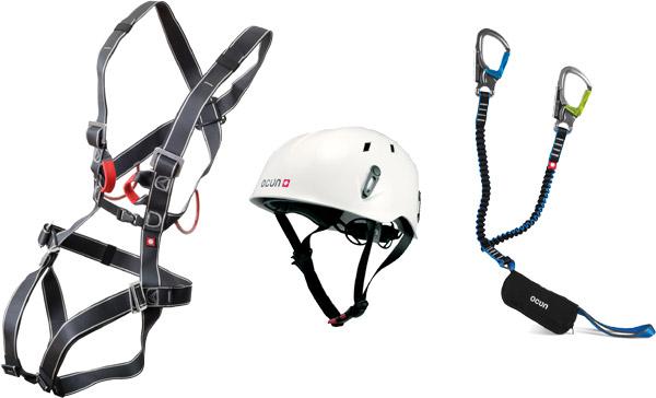 Klettersteigset Ocun Test : Ocun via ferrata bodyguard pail set alles für ihren