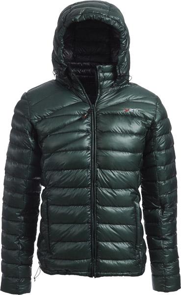 Yeti Virtue M's Lightweight Down Jacket darkgreen/black/S