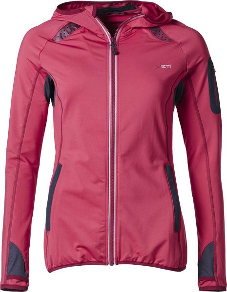 Yeti Wye W's Endurance Sports Hoodie ribbonred/darkred/L